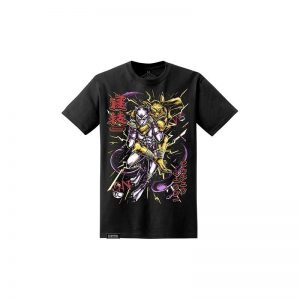 chokemon pikachu mewtwo battle tee black newaza apparel