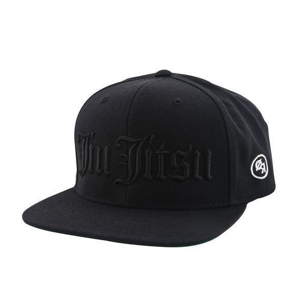 Choke Republic Snapback Jiu Jitsu Old English black