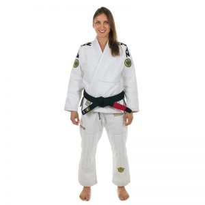 Kingz BJJ Gi Ladies Comp 450 V4 white