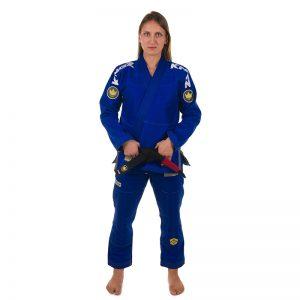 Kingz BJJ Gi Ladies Comp 450 V4 blue