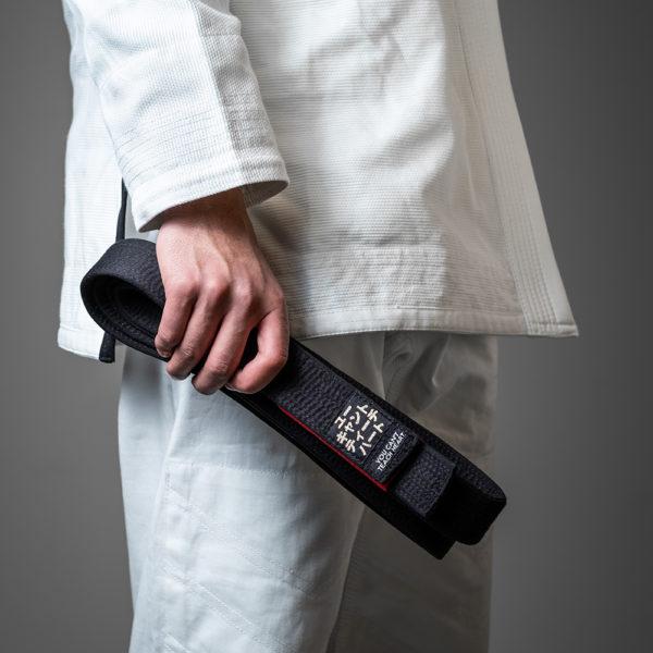 hyperfly bjj belt premium black 3