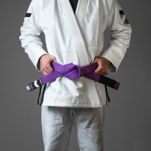 hyperfly bjj belt premium purple 1