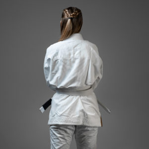 hyperfly bjj gi ladies hyperlyte 2.0 white bronze 2
