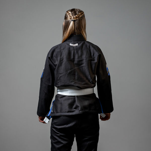 hyperfly bjj gi ladies premium 3.0 black 2