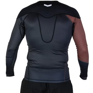 hyperfly rashguard supreme ranked ii long sleeve brun 2