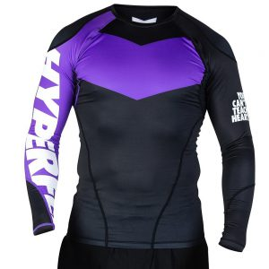 hyperfly rashguard supreme ranked ii long sleeve lila 1