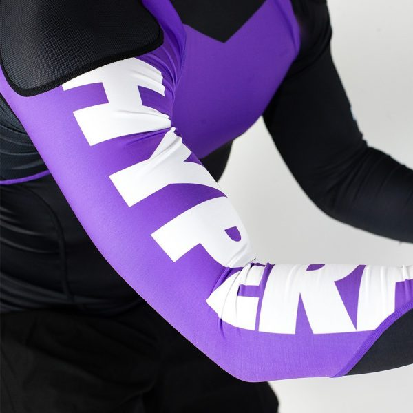 hyperfly rashguard supreme ranked ii long sleeve lila 4
