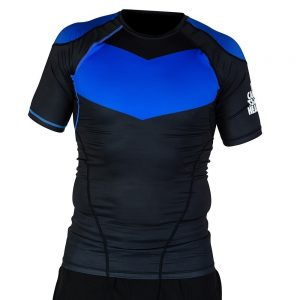 hyperfly rashguard supreme ranked ii short sleeve bla 1