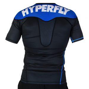 hyperfly rashguard supreme ranked ii short sleeve bla 2