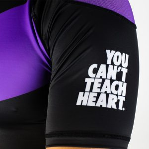 hyperfly rashguard supreme ranked ii short sleeve lila 3
