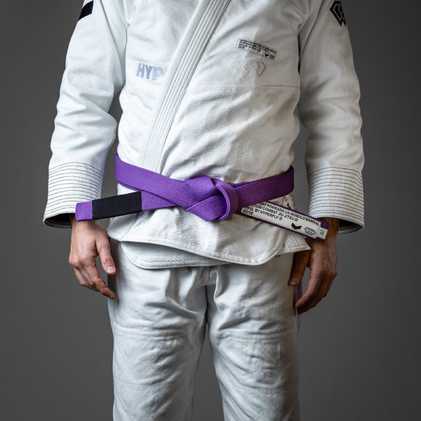 hyperfly x everyday porrada bjj belt purple 1