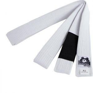 Inverted Gear BJJ Belt white