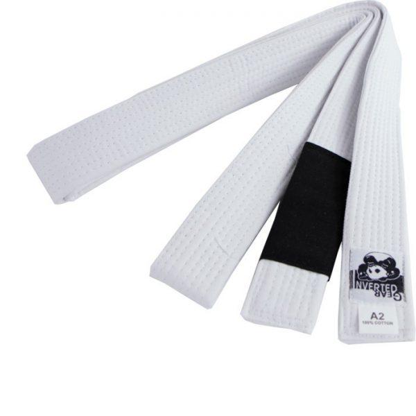 Inverted Gear BJJ Belt white