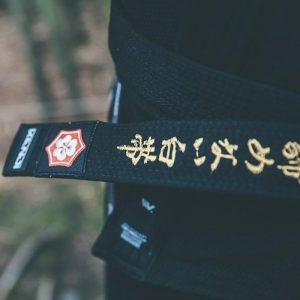Kanji BJJ Belt Premium Embroidered