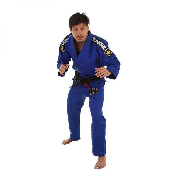 Kingz BJJ Gi Basic 2.0 blue incl. white belt