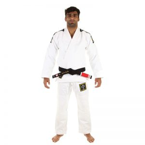 Kingz BJJ Gi Basic 2.0 white incl. white belt
