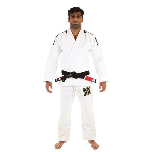 Kingz BJJ Gi Basic 2.0 white incl. white belt