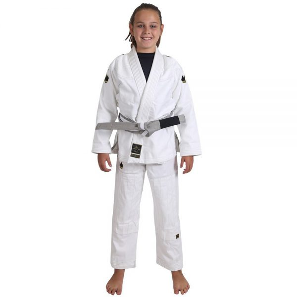 Kingz BJJ Gi Kids Comp V5 white