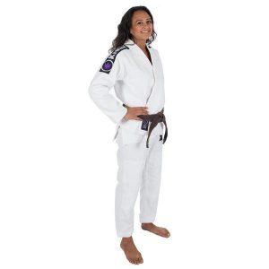 Kingz BJJ Gi Ladies Basic 2.0 white incl. white belt