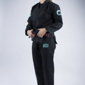 kingz bjj gi ladies classic 3.0 svart 3