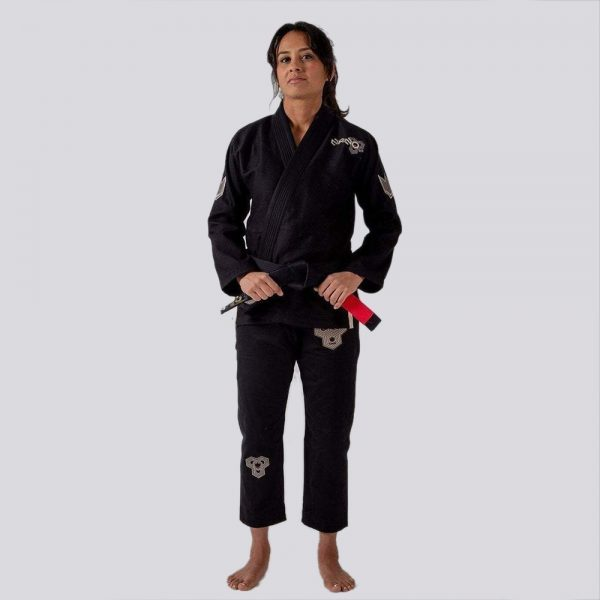 kingz bjj gi ladies nano 2.0 svart 1
