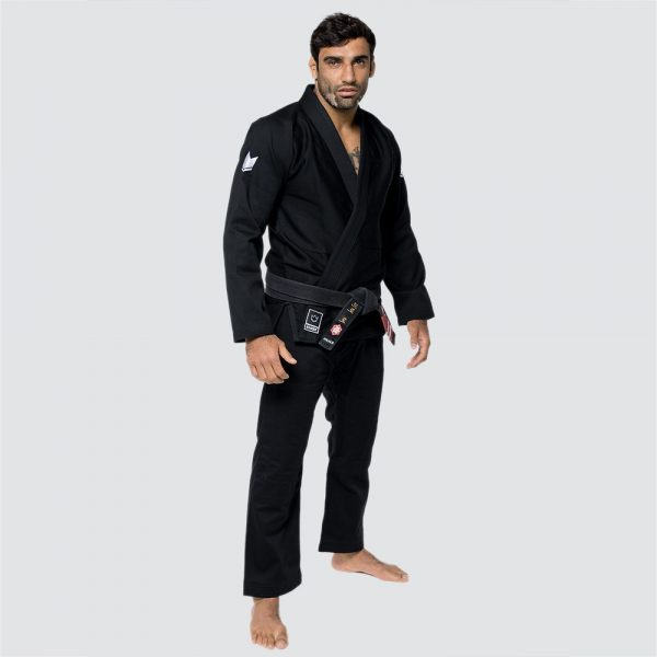 kingz bjj gi the one svart 4