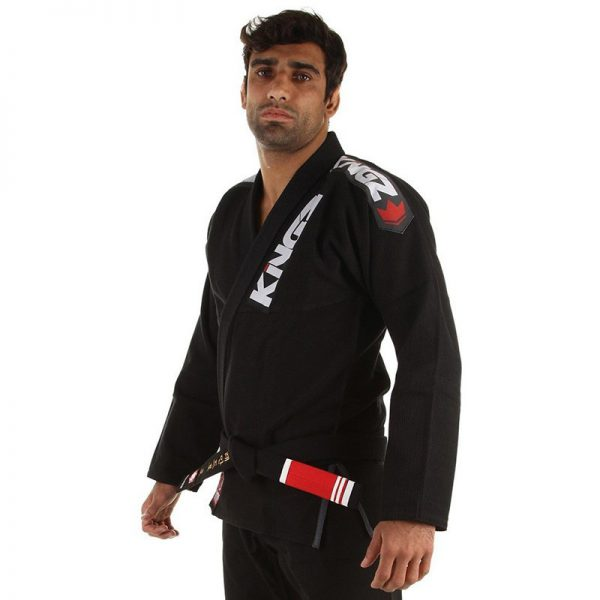 kingz bjj gi ultralight svart 9