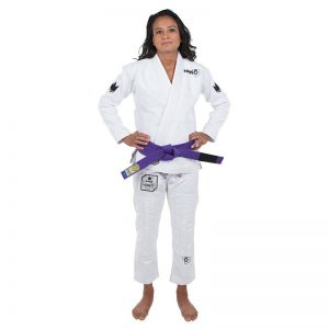 Kingz BJJ Gi Ladies Nano white