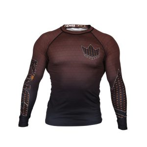 kingz rashguard ranked crown 3.0 brun 1