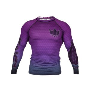 kingz rashguard ranked crown 3.0 lila 1