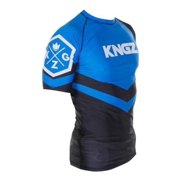 kingz rashguard ranked short sleeve bla 2