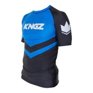 kingz rashguard ranked short sleeve bla 3