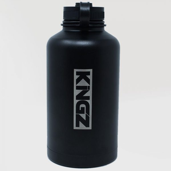 kingz vattenflaska hydrate svart 1