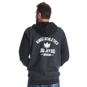 kingz hoodie varsity svart 2