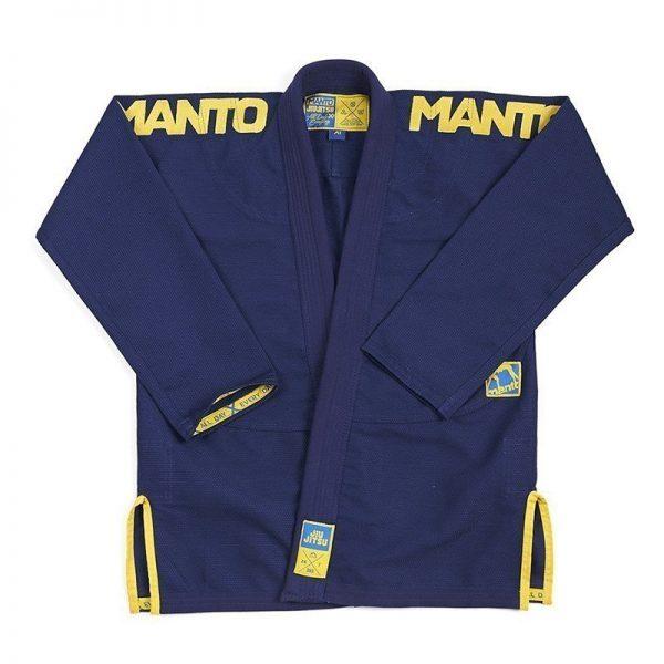 Manto BJJ Gi X3 navy/yellow