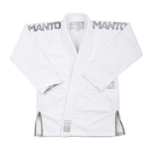 Manto BJJ Gi X3 white/grey