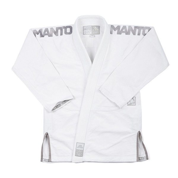 Manto BJJ Gi X3 white/grey