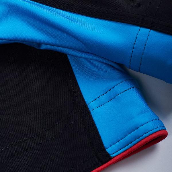 Manto Shorts Stripe 2.0 black red 5