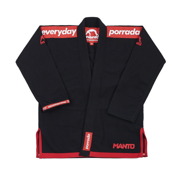 manto x everyday porrada bjj gi svart 1