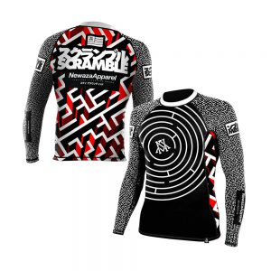 newaza scramble rashguard the seeker 1