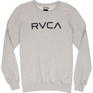 RVCA Crewneck Big Logo grey