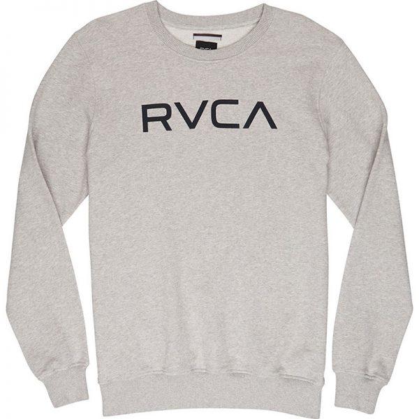 RVCA Crewneck Big Logo grey