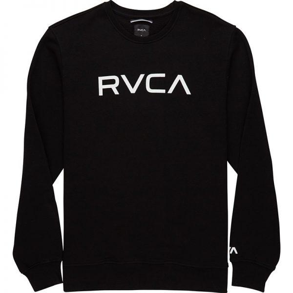 RVCA Crewneck Big Logo black