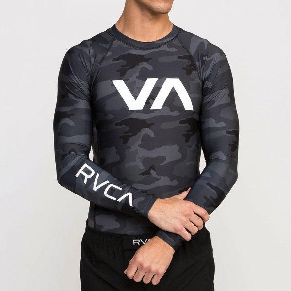 RVCA Rashguard camo