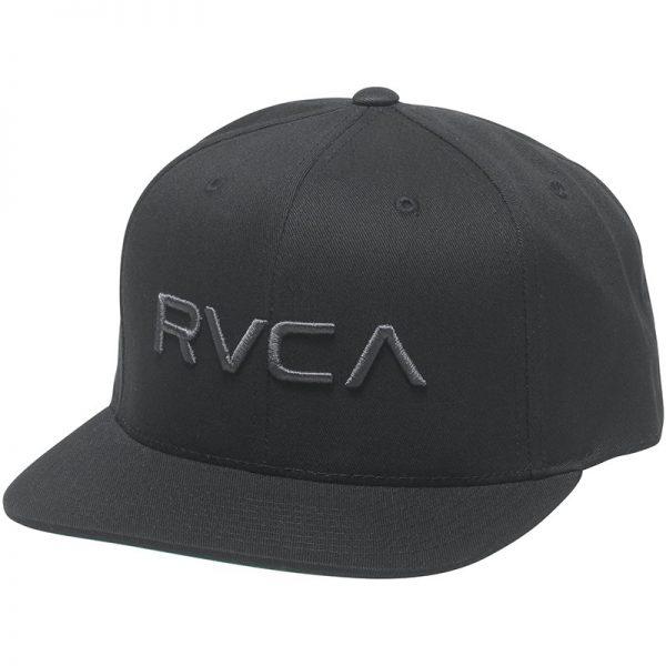 RVCA Snapback Twill III black/black