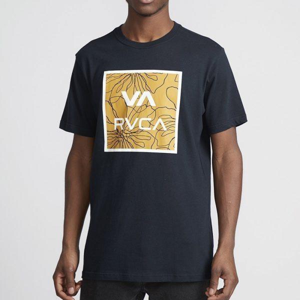 rvca t shirt all the way multi 1