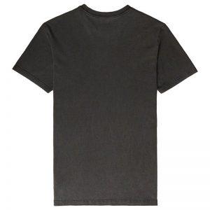 rvca t shirt big logo morkgra 2