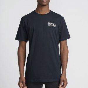 rvca t shirt check mate 1