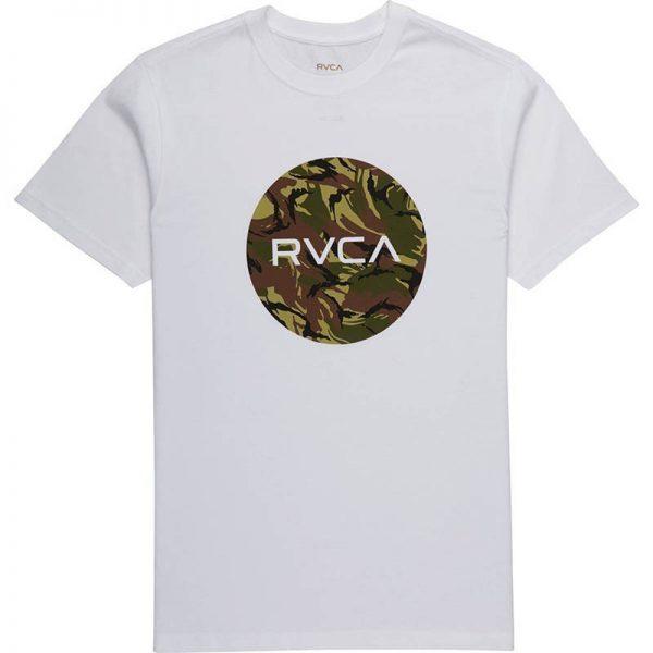 RVCA T-shirt Standard white/camo