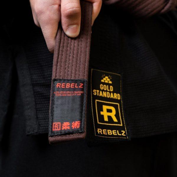 rebelz bjj ballte premium brun 2